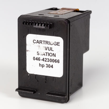 Auf dem Bild sehen Sie den ArtikelN9K06AE von Hewlett-Packard. Dieses Tintenpatrone Modell eignet sich für das Recycling und wird daher angekauft.