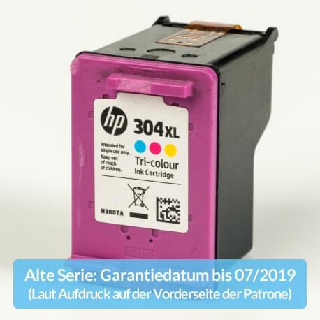 Auf dem Bild sehen Sie den ArtikelN9K07AE Alte Serie von Hewlett-Packard. Dieses Tintenpatrone Modell eignet sich für die Wiederaufbereitung und wird daher zum Recycling angekauft.