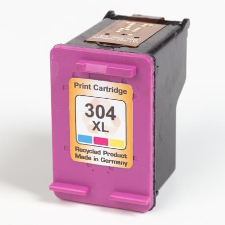 Auf dem Bild sehen Sie den ArtikelN9K07AE von Hewlett-Packard. Dieses Tintenpatrone Modell eignet sich für das Recycling und wird daher angekauft.