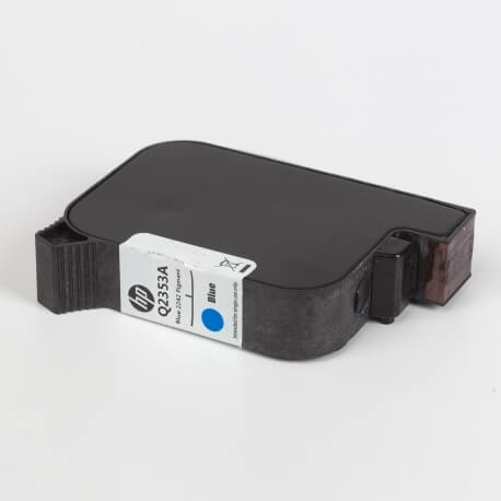 Auf dem Bild sehen Sie den ArtikelQ2353A von Hewlett-Packard. Dieses Tintenpatrone Modell eignet sich für die Wiederaufbereitung und wird daher zum Recycling angekauft.