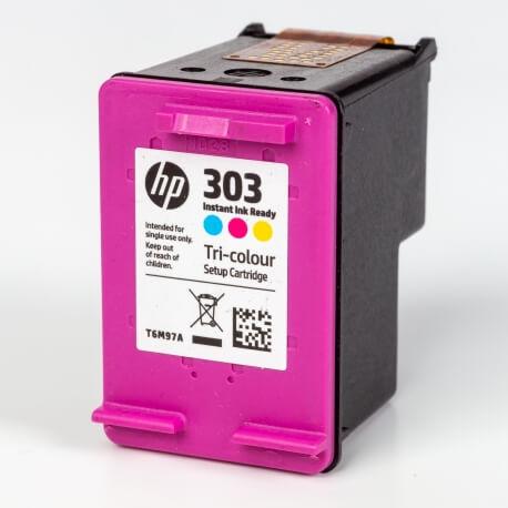 Auf dem Bild sehen Sie den ArtikelT6M97AE Instant von Hewlett-Packard. Dieses Tintenpatrone Modell eignet sich für die Wiederaufbereitung und wird daher zum Recycling angekauft.