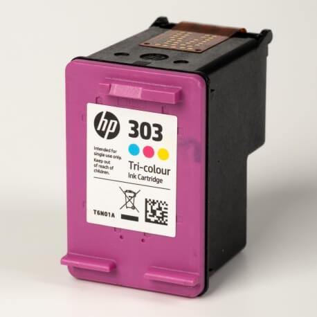 Auf dem Bild sehen Sie den ArtikelT6N01AE von Hewlett-Packard. Dieses Tintenpatrone Modell eignet sich für die Wiederaufbereitung und wird daher zum Recycling angekauft.