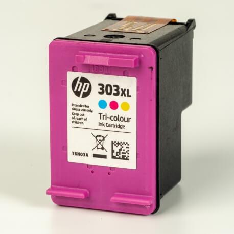 Auf dem Bild sehen Sie den ArtikelT6N03AE von Hewlett-Packard. Dieses Tintenpatrone Modell eignet sich für die Wiederaufbereitung und wird daher zum Recycling angekauft.