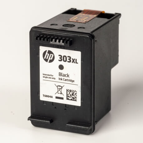 Auf dem Bild sehen Sie den ArtikelT6N04AE von Hewlett-Packard. Dieses Tintenpatrone Modell eignet sich für die Wiederaufbereitung und wird daher zum Recycling angekauft.