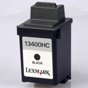 Auf dem Bild sehen Sie den Artikel 13400HC von Lexmark. Dieses Tintenpatrone Modell eignet sich für die Wiederaufbereitung und wird daher zum Recycling angekauft.