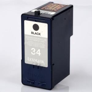 Auf dem Bild sehen Sie den Artikel 18C0034 von Lexmark. Dieses Tintenpatrone Modell eignet sich für die Wiederaufbereitung und wird daher zum Recycling angekauft.
