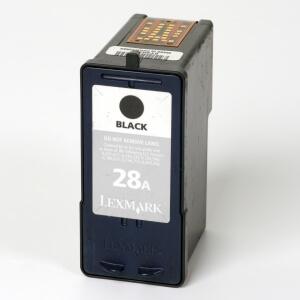 Auf dem Bild sehen Sie den Artikel 18C1528 von Lexmark. Dieses Tintenpatrone Modell eignet sich für die Wiederaufbereitung und wird daher zum Recycling angekauft.