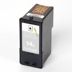 Auf dem Bild sehen Sie den Artikel 18C2080 von Lexmark. Dieses Tintenpatrone Modell eignet sich für die Wiederaufbereitung und wird daher zum Recycling angekauft.
