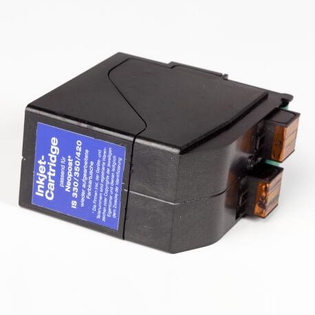 Auf dem Bild sehen Sie den Artikel 4135559Y von Neopost. Dieses Tintenpatrone Modell eignet sich für das Recycling und wird daher angekauft.