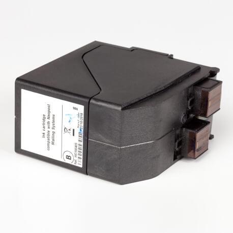 Auf dem Bild sehen Sie den Artikel4139466T von Neopost. Dieses Tintenpatrone Modell eignet sich für das Recycling und wird daher angekauft.