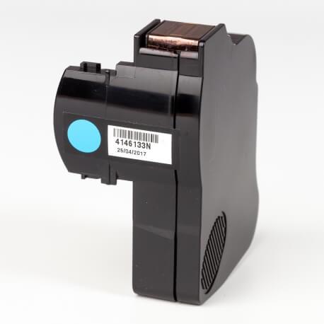 Auf dem Bild sehen Sie den Artikel4146133N von Neopost. Dieses Tintenpatrone Modell eignet sich für die Wiederaufbereitung und wird daher zum Recycling angekauft.