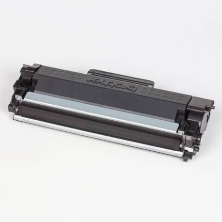 Auf dem Bild sehen Sie den ArtikelTN-2410 Starter von Brother. Dieses Toner Modell eignet sich für die Wiederaufbereitung und wird daher zum Recycling angekauft.
