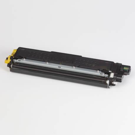Auf dem Bild sehen Sie den ArtikelTN-243 Starter von Brother. Dieses Toner Modell eignet sich für die Wiederaufbereitung und wird daher zum Recycling angekauft.