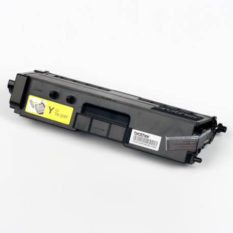 Auf dem Bild sehen Sie den ArtikelTN-329 von Brother. Dieses Toner Modell eignet sich für die Wiederaufbereitung und wird daher zum Recycling angekauft.