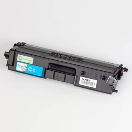 Auf dem Bild sehen Sie den ArtikelTN-421 Starter von Brother. Dieses Toner Modell eignet sich für die Wiederaufbereitung und wird daher zum Recycling angekauft.