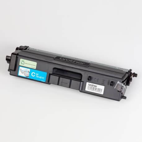 Auf dem Bild sehen Sie den ArtikelTN-421 von Brother. Dieses Toner Modell eignet sich für die Wiederaufbereitung und wird daher zum Recycling angekauft.