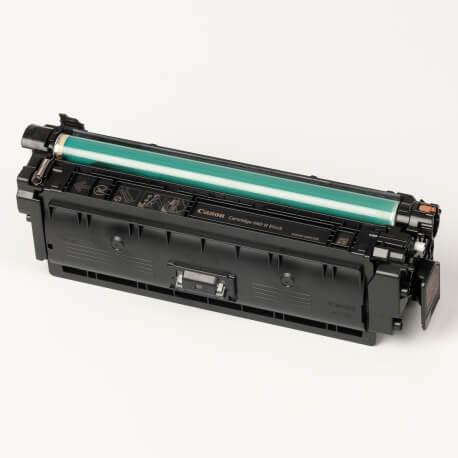 Auf dem Bild sehen Sie den ArtikelCartridge 040H von Canon. Dieses Toner Modell eignet sich für die Wiederaufbereitung und wird daher zum Recycling angekauft.