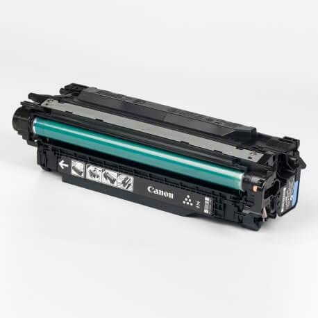 Auf dem Bild sehen Sie den ArtikelCartridge 732H von Canon. Dieses Toner Modell eignet sich für die Wiederaufbereitung und wird daher zum Recycling angekauft.
