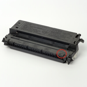 Canon made the Toner type E30 France