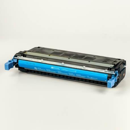 Auf dem Bild sehen Sie den ArtikelC9730A-33A von Hewlett-Packard. Dieses Toner Modell eignet sich für die Wiederaufbereitung und wird daher zum Recycling angekauft.