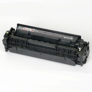 Auf dem Bild sehen Sie den Artikel CC530A von Hewlett-Packard. Dieses Toner Modell eignet sich für die Wiederaufbereitung und wird daher zum Recycling angekauft.