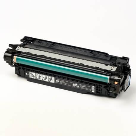 Auf dem Bild sehen Sie den Artikel CE400A-03A von Hewlett-Packard. Dieses Toner Modell eignet sich für die Wiederaufbereitung und wird daher zum Recycling angekauft.