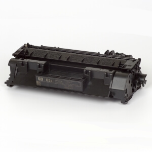 Hewlett-Packard made the Toner type CE505A