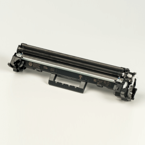 Hewlett-Packard made the Toner type CF217A