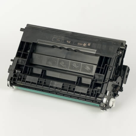 Auf dem Bild sehen Sie den ArtikelCF237A von Hewlett-Packard. Dieses Toner Modell eignet sich für die Wiederaufbereitung und wird daher zum Recycling angekauft.