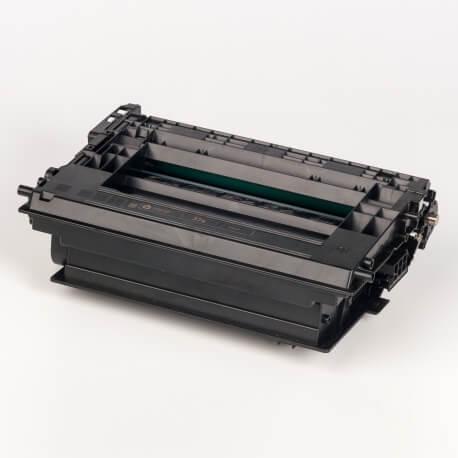 Auf dem Bild sehen Sie den ArtikelCF237X von Hewlett-Packard. Dieses Toner Modell eignet sich für die Wiederaufbereitung und wird daher zum Recycling angekauft.