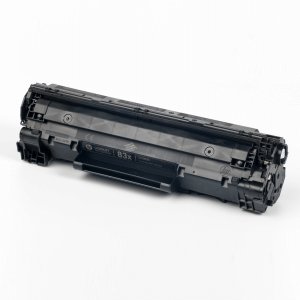 Hewlett-Packard made the Toner type CF283X