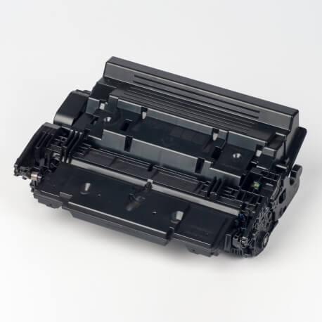 Auf dem Bild sehen Sie den ArtikelCF287X von Hewlett-Packard. Dieses Toner Modell eignet sich für die Wiederaufbereitung und wird daher zum Recycling angekauft.