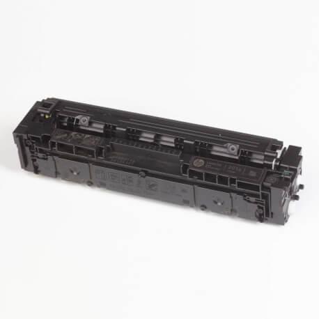 Auf dem Bild sehen Sie den ArtikelCF400A-03A von Hewlett-Packard. Dieses Toner Modell eignet sich für die Wiederaufbereitung und wird daher zum Recycling angekauft.