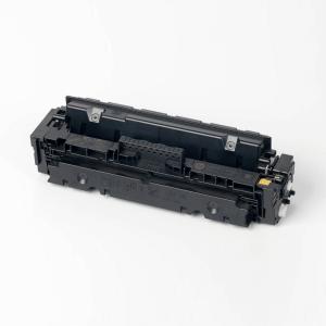 Auf dem Bild sehen Sie den Artikel CF410X-13X von Hewlett-Packard. Dieses Toner Modell eignet sich für die Wiederaufbereitung und wird daher zum Recycling angekauft.