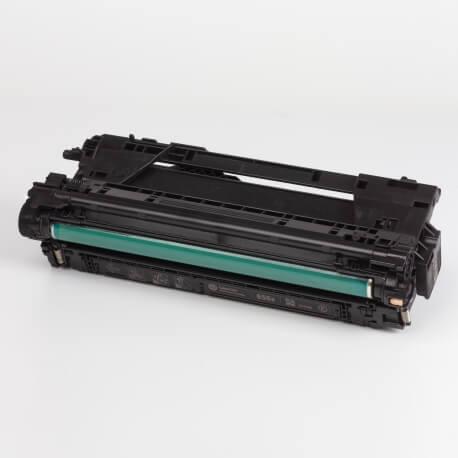 Auf dem Bild sehen Sie den ArtikelCF460X-63X von Hewlett-Packard. Dieses Toner Modell eignet sich für die Wiederaufbereitung und wird daher zum Recycling angekauft.