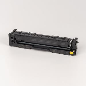 Auf dem Bild sehen Sie den ArtikelCF540X-43X von Hewlett-Packard. Dieses Toner Modell eignet sich für die Wiederaufbereitung und wird daher zum Recycling angekauft.