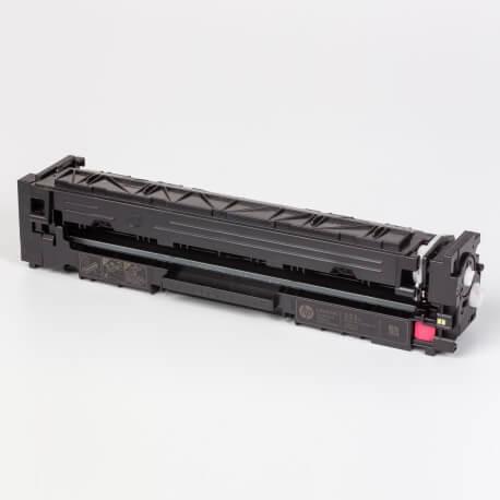 Auf dem Bild sehen Sie den ArtikelCF540A-43A Introductory von Hewlett-Packard. Dieses Toner Modell eignet sich für die Wiederaufbereitung und wird daher zum Recycling angekauft.