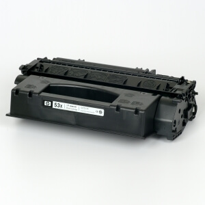 Hewlett-Packard made the Toner type Q7553X