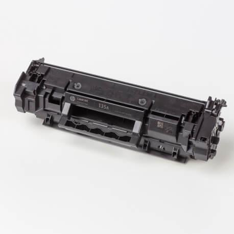 Auf dem Bild sehen Sie den ArtikelW1350A von Hewlett-Packard. Dieses Toner Modell eignet sich für die Wiederaufbereitung und wird daher zum Recycling angekauft.