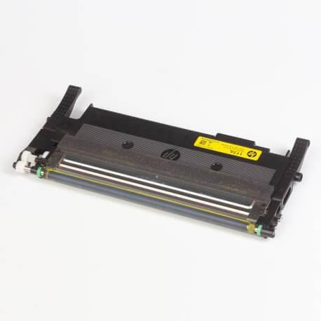 Auf dem Bild sehen Sie den ArtikelW2070A-73A von Hewlett-Packard. Dieses Toner Modell eignet sich für die Wiederaufbereitung und wird daher zum Recycling angekauft.