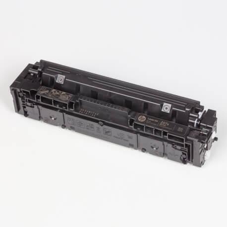 Auf dem Bild sehen Sie den ArtikelW2210X-13X von Hewlett-Packard. Dieses Toner Modell eignet sich für die Wiederaufbereitung und wird daher zum Recycling angekauft.