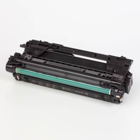 Auf dem Bild sehen Sie den ArtikelW9030MC-33MC von Hewlett-Packard. Dieses Toner Modell eignet sich für die Wiederaufbereitung und wird daher zum Recycling angekauft.