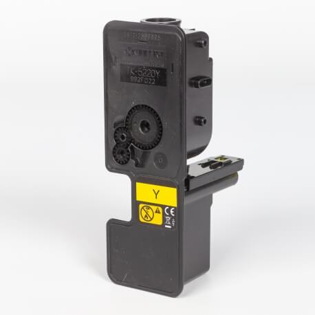 Auf dem Bild sehen Sie den ArtikelTK-5220 von Kyocera/Mita. Dieses Toner Modell eignet sich für die Wiederaufbereitung und wird daher zum Recycling angekauft.