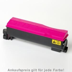 Auf dem Bild sehen Sie den Artikel TK-560 von Kyocera/Mita. Dieses Toner Modell eignet sich für die Wiederaufbereitung und wird daher zum Recycling angekauft.