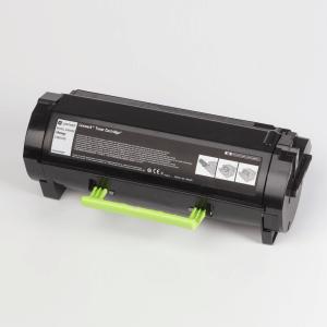Auf dem Bild sehen Sie den Artikel24B6035 von Lexmark. Dieses Toner Modell eignet sich für die Wiederaufbereitung und wird daher zum Recycling angekauft.