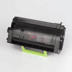 Auf dem Bild sehen Sie den Artikel 58D2x00 von Lexmark. Dieses Toner Modell eignet sich für die Wiederaufbereitung und wird daher zum Recycling angekauft.