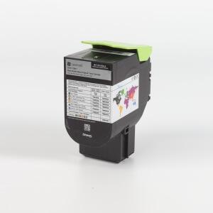 Auf dem Bild sehen Sie den Artikel 71B20x0 von Lexmark. Dieses Toner Modell eignet sich für die Wiederaufbereitung und wird daher zum Recycling angekauft.