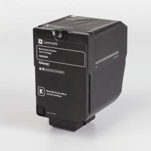 Auf dem Bild sehen Sie den Artikel 75B20x0 von Lexmark. Dieses Toner Modell eignet sich für die Wiederaufbereitung und wird daher zum Recycling angekauft.