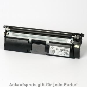 Auf dem Bild sehen Sie den Artikel 1710589-004-7 von Konica Minolta. Dieses Toner Modell eignet sich für die Wiederaufbereitung und wird daher zum Recycling angekauft.
