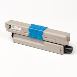 Auf dem Bild sehen Sie den Artikel 44469804 von OKI. Dieses Toner Modell eignet sich für die Wiederaufbereitung und wird daher zum Recycling angekauft.